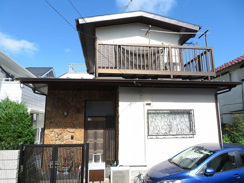 外壁塗装 世田谷区D様邸 施工後外壁全景 20210727IMG_1127