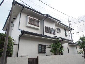 外壁塗装 世田谷区F様邸 施工後屋根全景2021032214P7160407