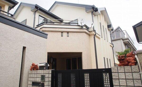 外壁塗装 世田谷区N様邸 施工後外壁全景20210807P8070517