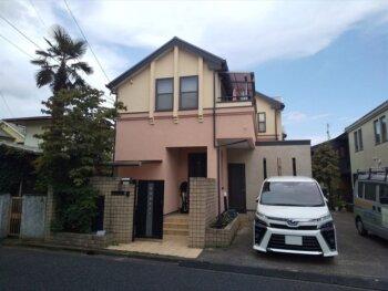 外壁塗装 世田谷区Y様邸 施工後外壁全景 20210807DSC_0460