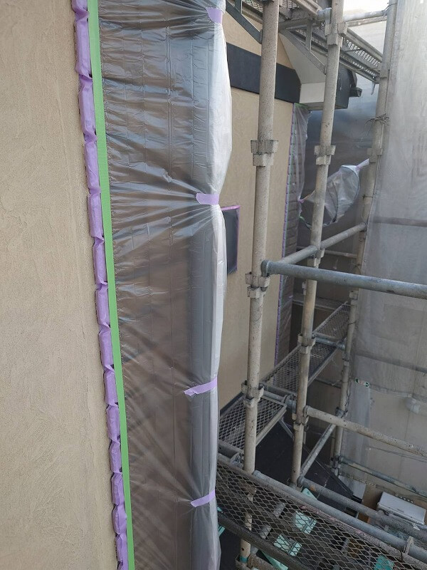 外壁塗装 世田谷区D様邸 養生2021092113217