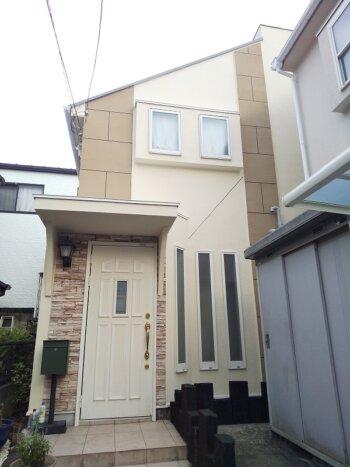 外壁塗装 世田谷区H様邸 外壁施工後全景 20210911DSC_0251