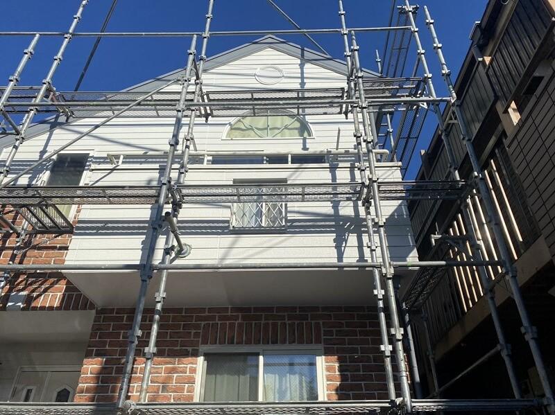 外壁塗装 杉並区K様邸 塗装工事完了 20210922S__13451304