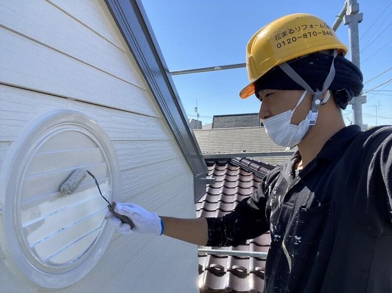 外壁塗装 杉並区K様邸 細部塗装中 20210917S__13410312