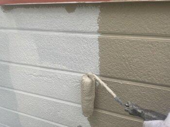 外壁塗装 世田谷区H様邸 外壁中塗り中 20211021S__5357598