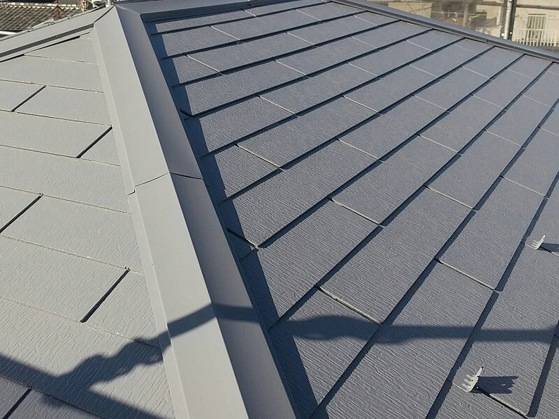 外壁塗装 世田谷区M様邸 屋根塗装完了 2021101426448