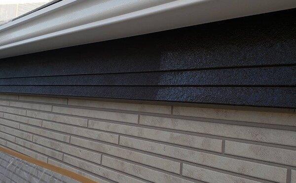 外壁塗装 世田谷区M様邸 軒樋塗装完了2021101526528