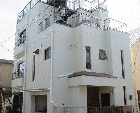 外壁塗装 世田谷区S様邸 施工後外壁全景20210316IMG_3230