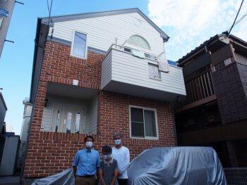 外壁塗装 杉並区K様邸 完成記念写真 20211008PA080610