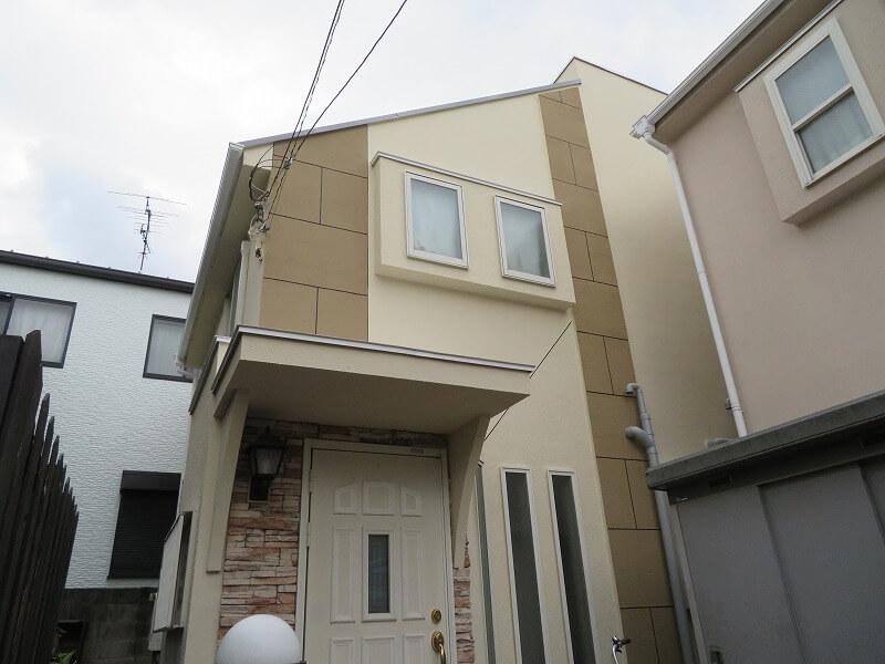 世田谷区H様の外壁塗装工事の完成写真